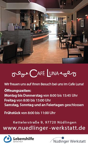 Café Luna Nüdlinger Werkstatt