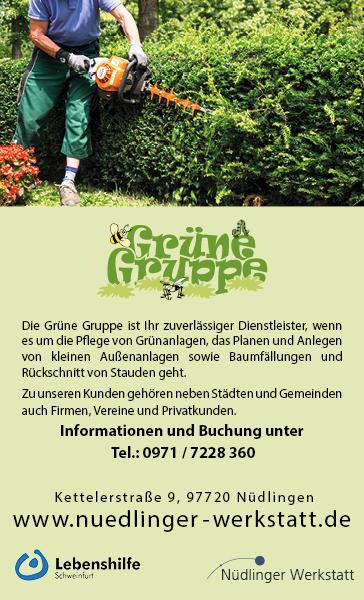 Grüne Gruppe Nüdlinger Werkstatt